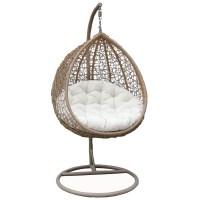 Bentley Garden Wicker Rattan Patio Hanging Swing Chair ...
