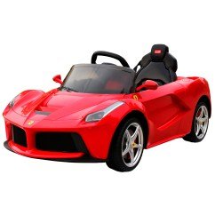Ferrari Office Chair Uk Wine Barrel Chairs Pacheco New 2017 Rastar La 12v Electric Red Ride On Car
