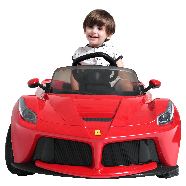 ferrari office chair uk t4 spa new 2017 rastar la 12v electric red ride on car