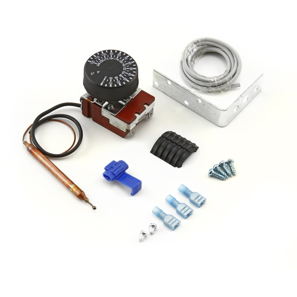 medium resolution of universal 12v 0120 deg adjustable electric thermo fan switch kit