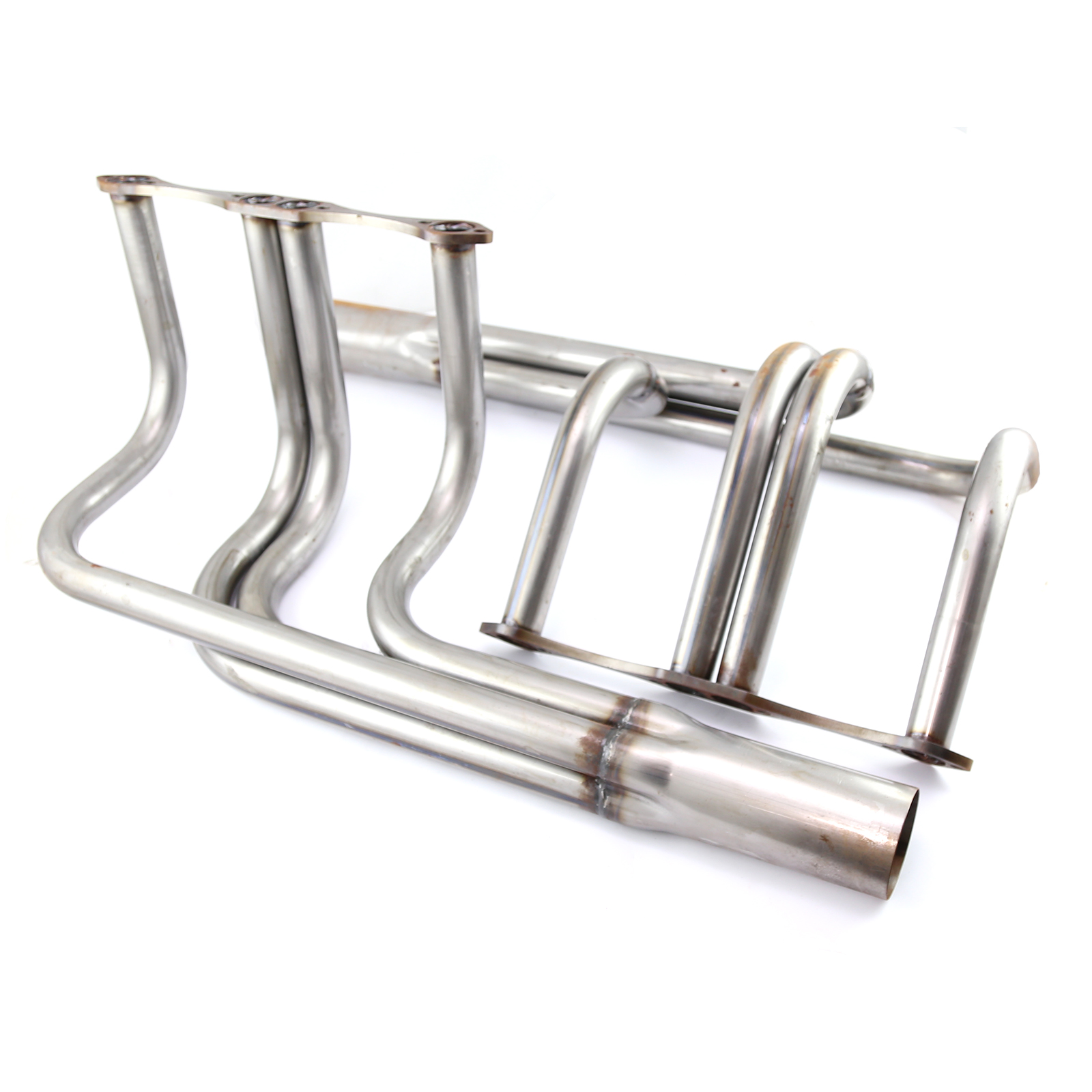 Chevy Sbc 350 Classic T Bucket Street Rod Raw Steel Exhaust Headers
