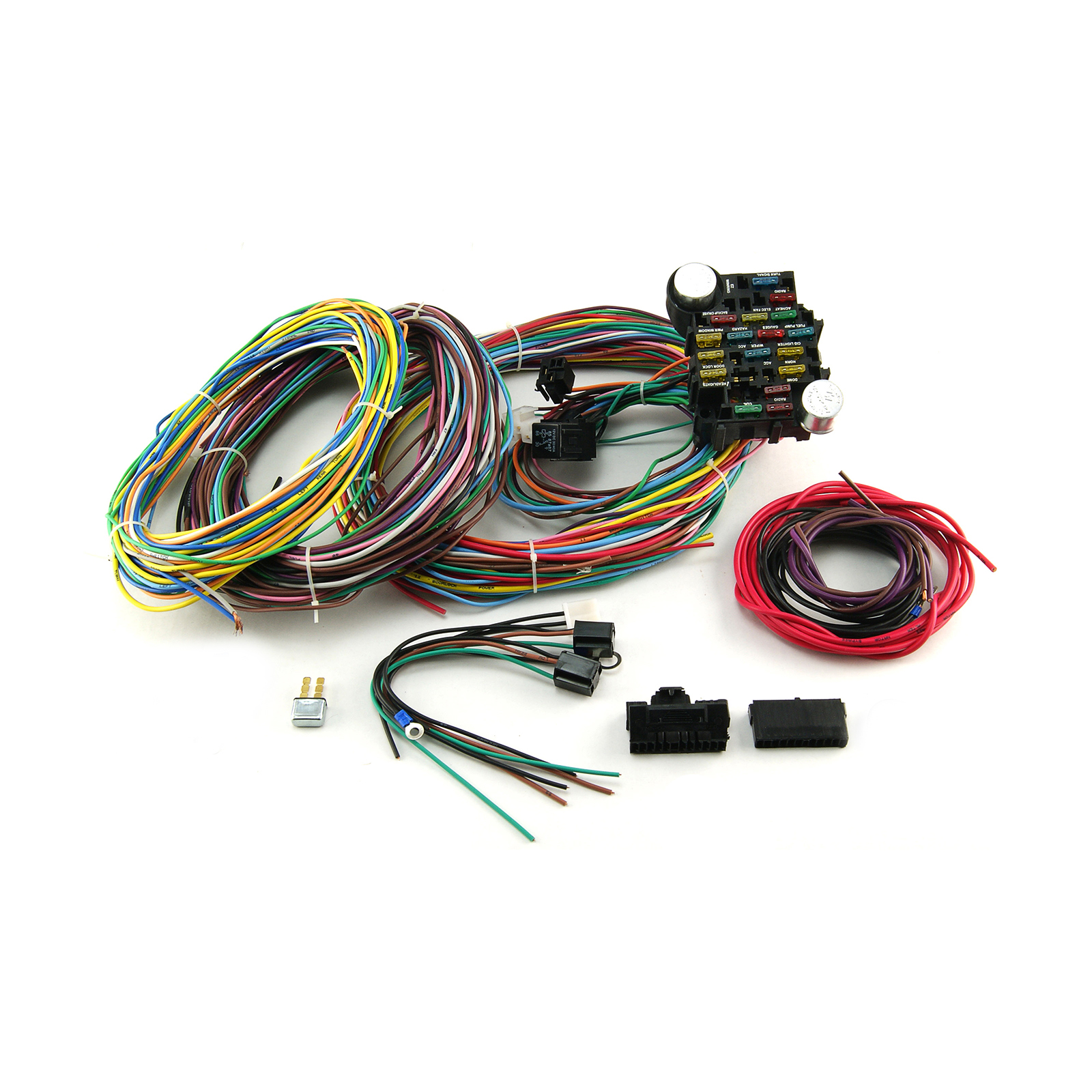 Automotive Wiring Harness Furthermore Wire 22 Circuit Universal Wiring