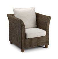 Wicker Chair Brown - Conservatory Furniture - Rattan ...