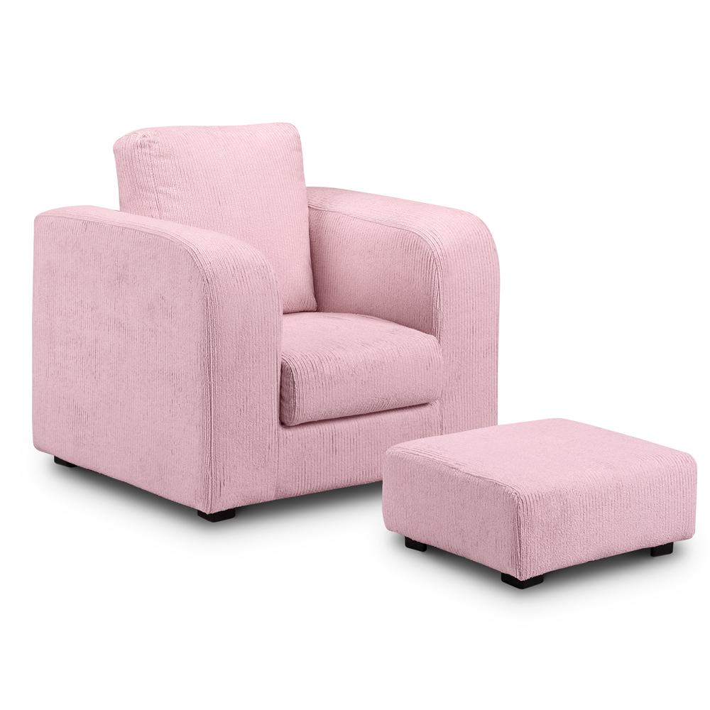 Childrens Upholstered Armchairs  2 Colour Chairs