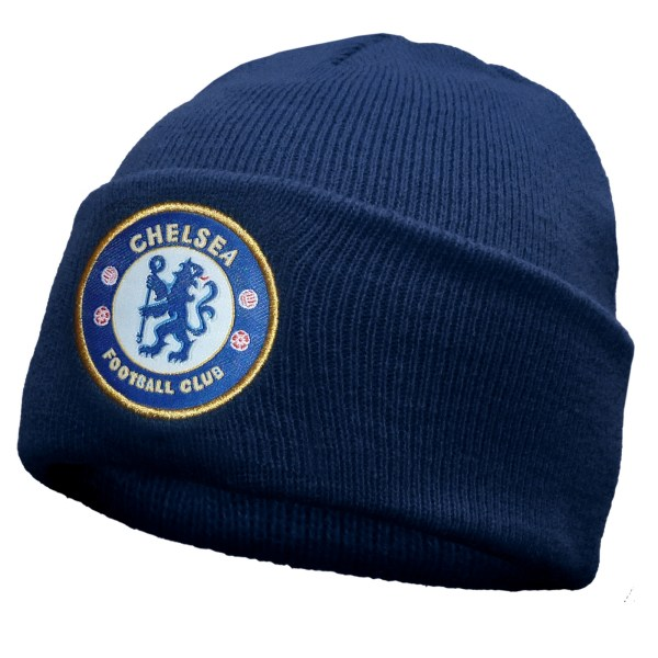 Chelsea Football Club Official Soccer Gift Knitted Bronx