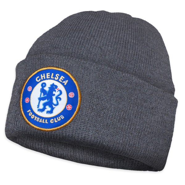 Chelsea FC Official Soccer Gift Kids Knitted Bronx Beanie
