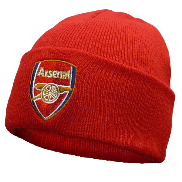 Arsenal FC Official Football Gift Knitted Bronx Beanie Hat