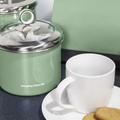 Kitchen Storage Canisters Gel Pro Mats Morphy Richards Tea Coffee Sugar Biscuit Cake