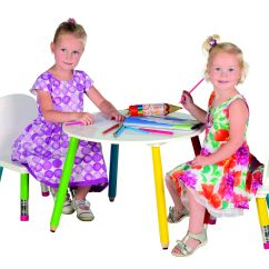Children S Playroom Sofa Empress Tufted Upholstered Pencil Kids Table With 2 Chairs Set Childrens
