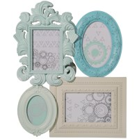 Multi Aperture 4 Photo Frame Wall Hanging Family Picture ...