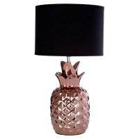 Copper Ceramic Base Wendi Bedside Home Table Lamp Light ...