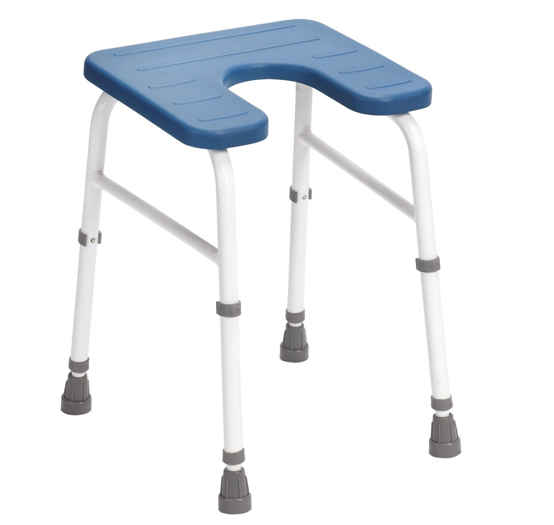 united chair medical stool office lowes drive adjustable cowley shower with