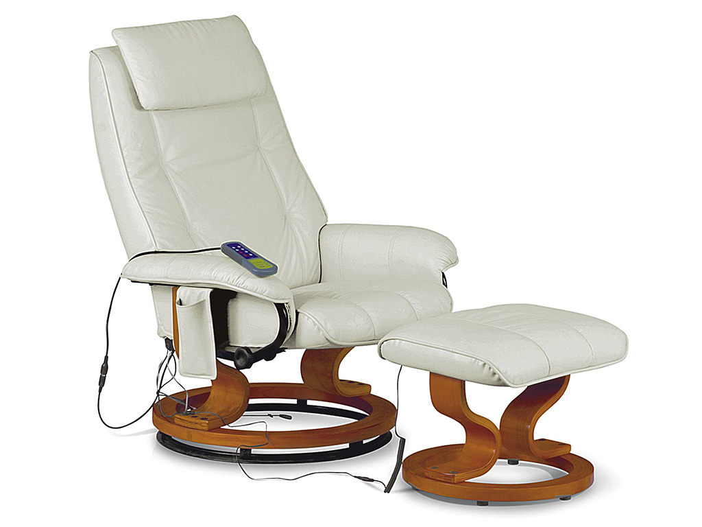 recliner massage chair leather revolving price reclining armchair seat