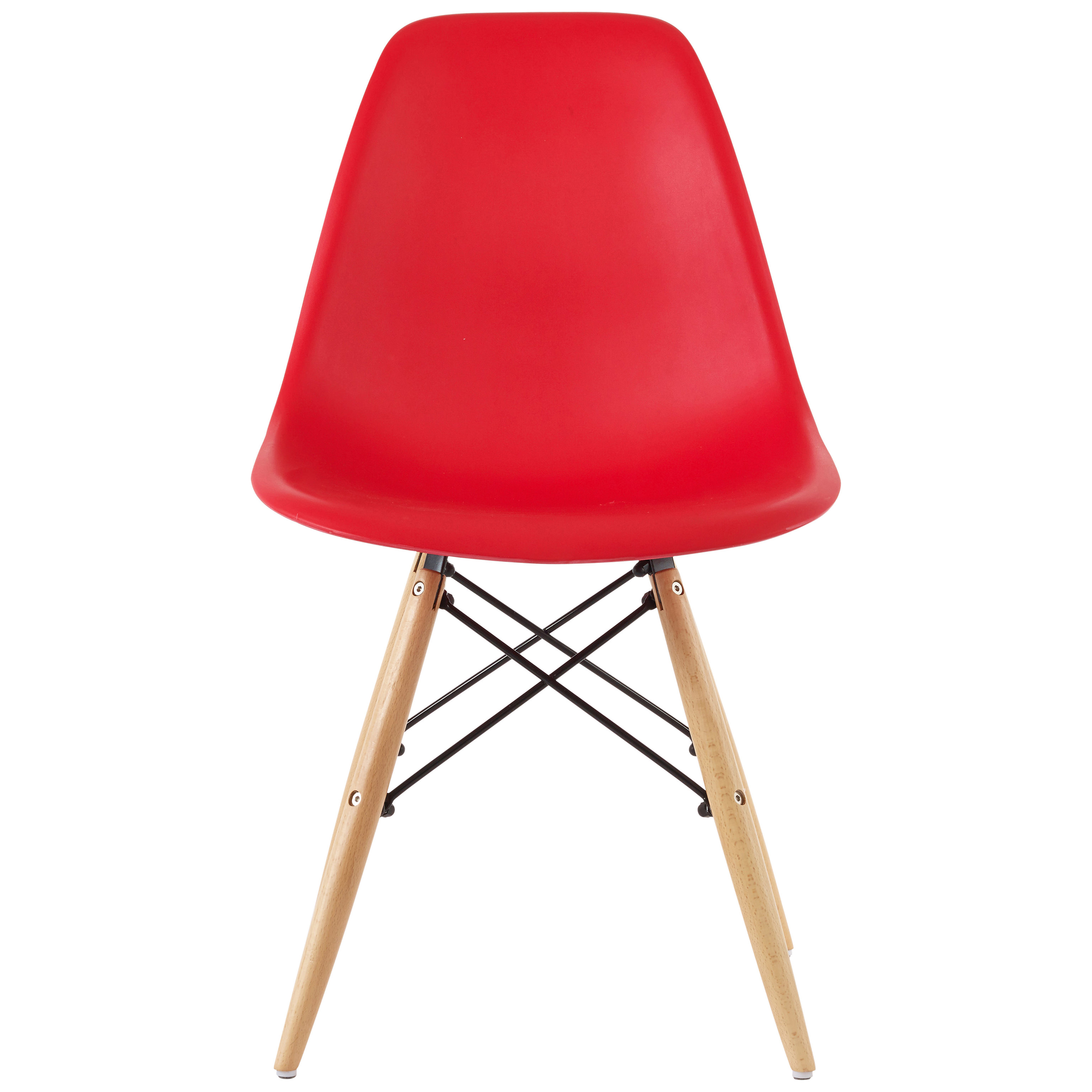 red blue chair stool big w pack of 4 eiffel dining seat black white yellow