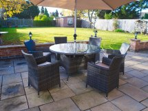 Outdoor Round Patio Table and Chairs