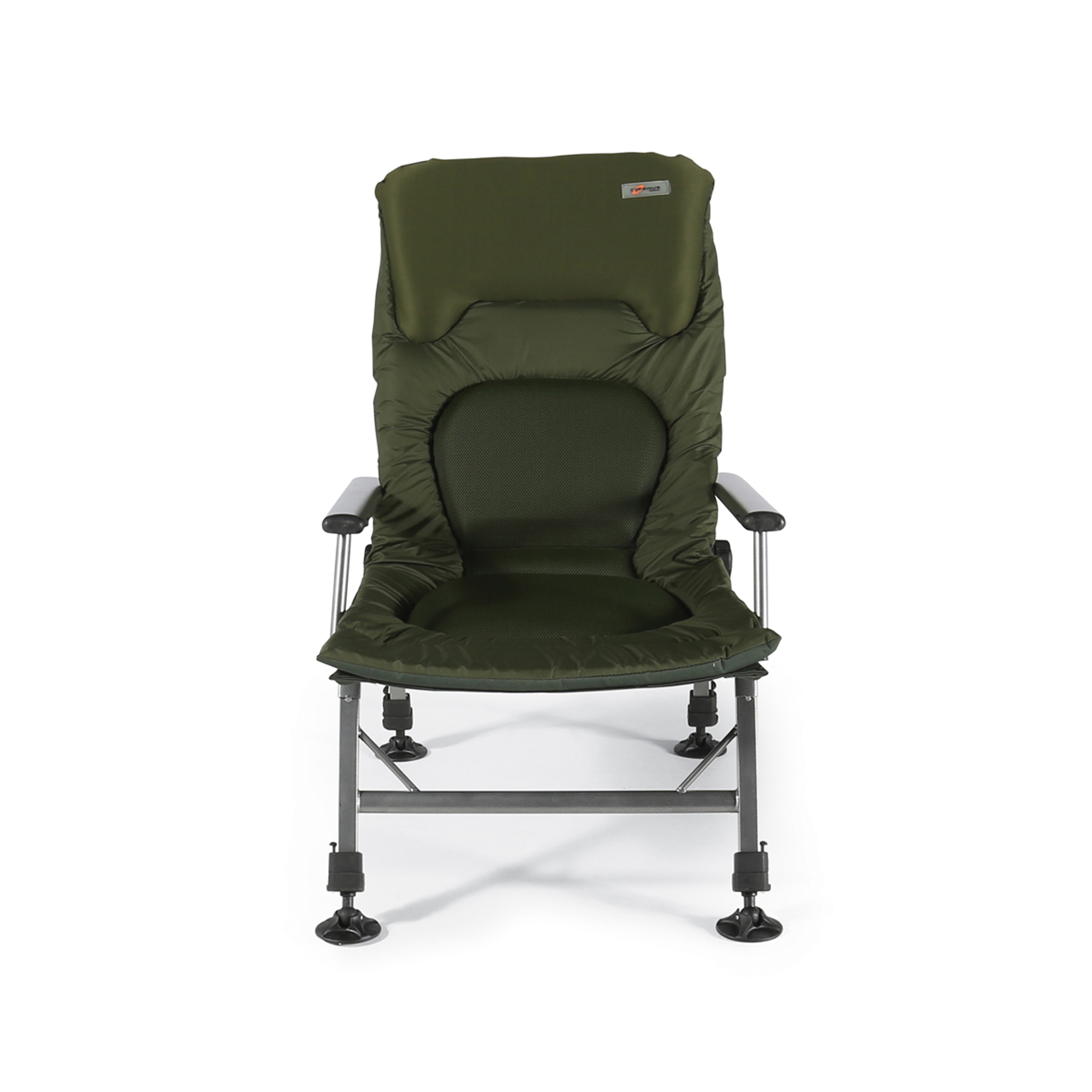 fishing chair with arms mesh desk cyprinus zoneout extra padded lightweight reclining