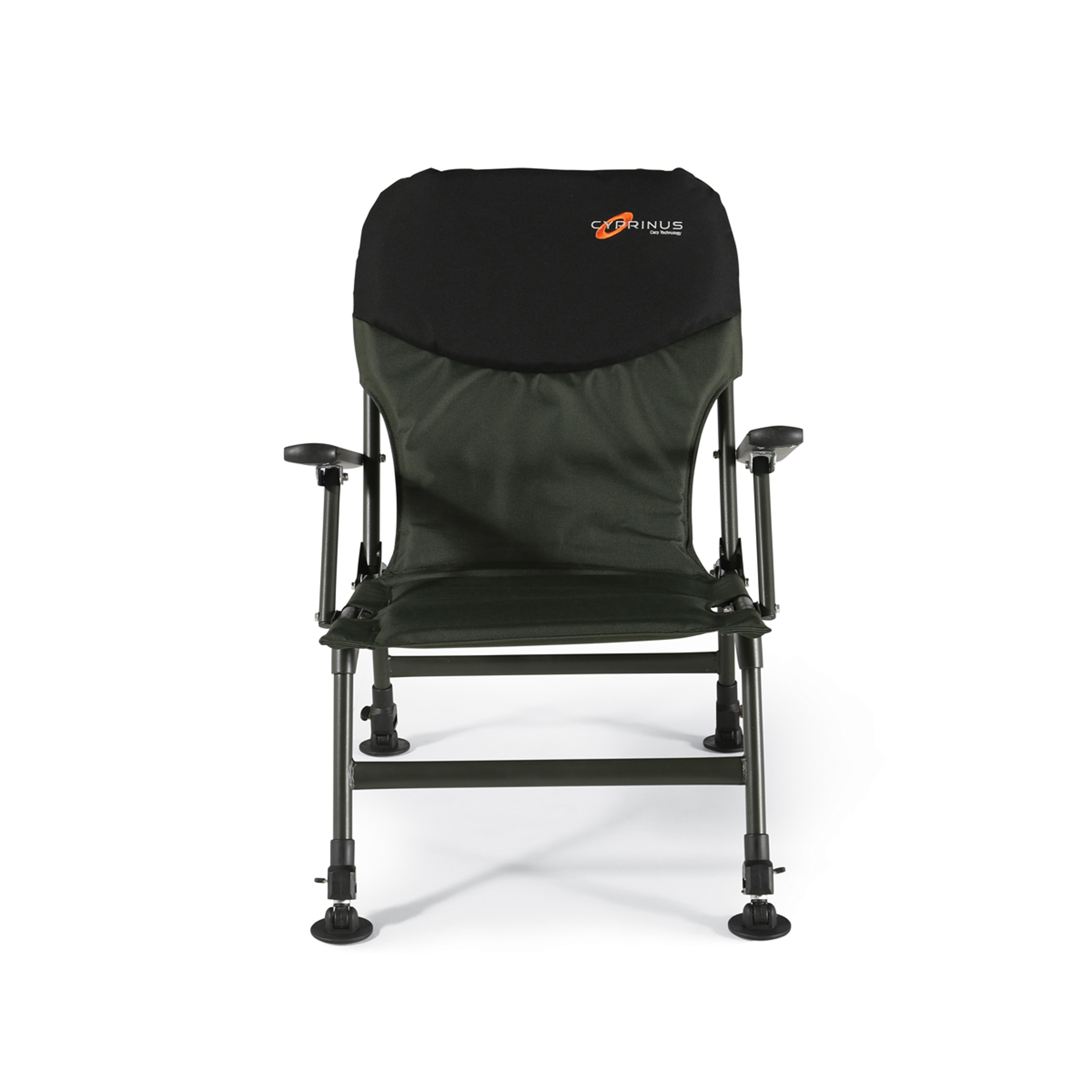 fishing chair lightweight glider with ottoman canada cyprinus folding seat arm rests carp