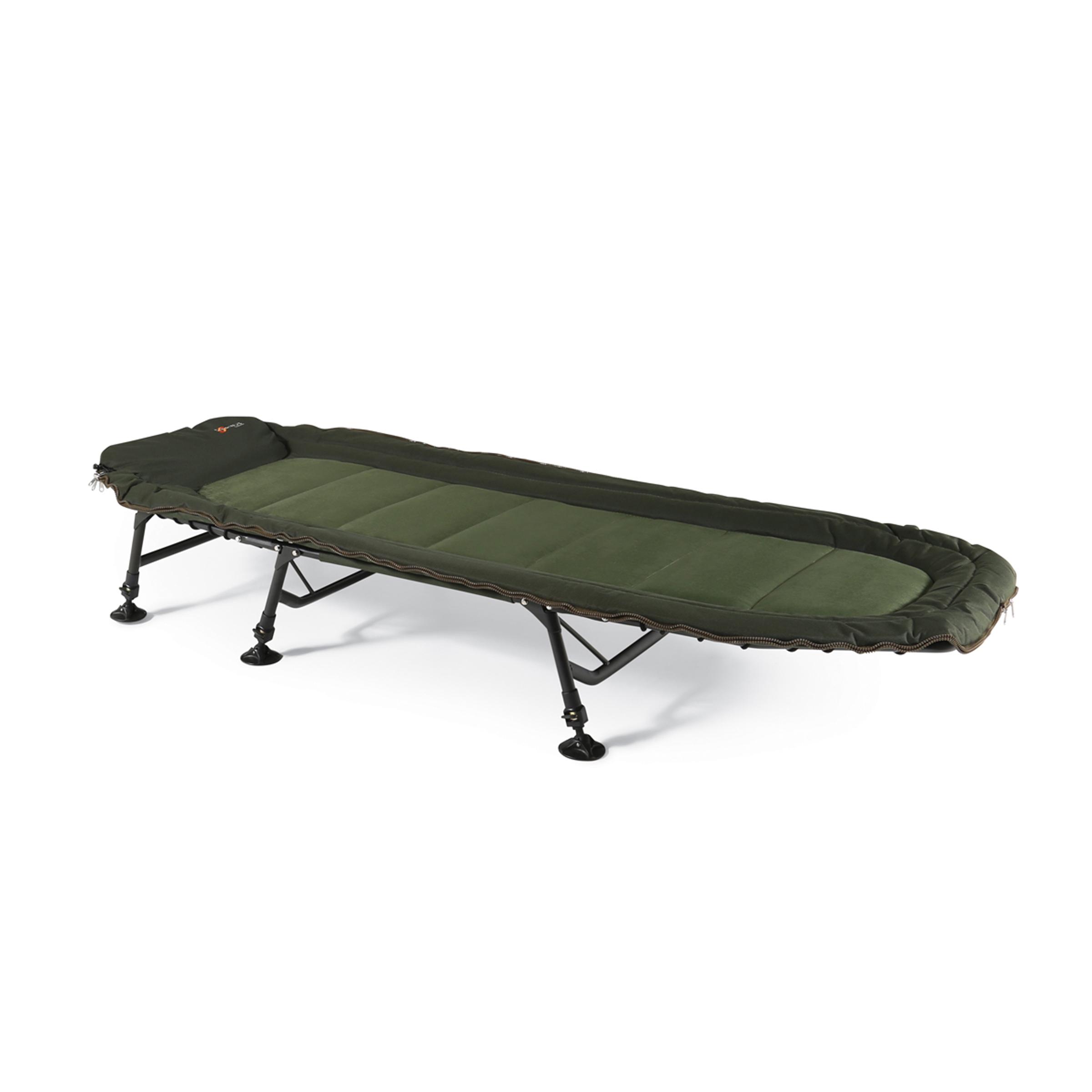fishing chair base arthrex beach cyprinus 6 leg carp bed bedchair and 5 season