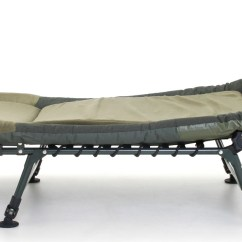 Memory Foam Chair Bed Uk Round Back Dining Cyprinus Carp Fishing Bedchair With Rrp £269.99