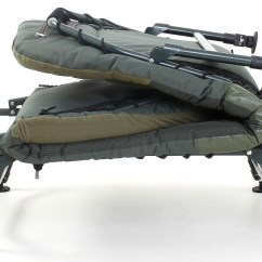Fishing Bed Chair Used Webbing For Lawn Chairs Cyprinus Carp Bedchair With Memory Foam