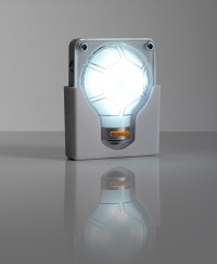 Wall Mounted 4 LED Battery operated Anywhere Handy Bulb ...