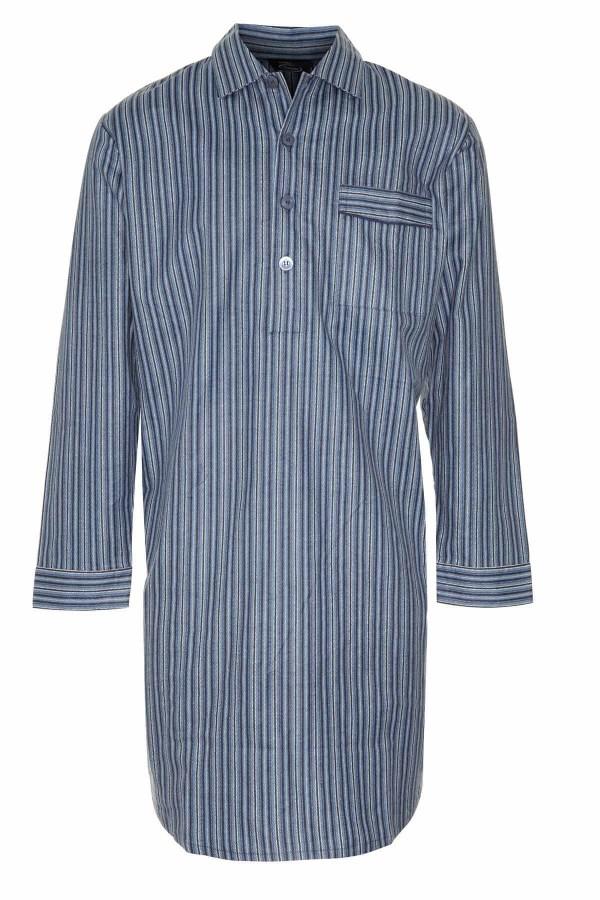 Men's Cotton Nightshirts Sleepwear