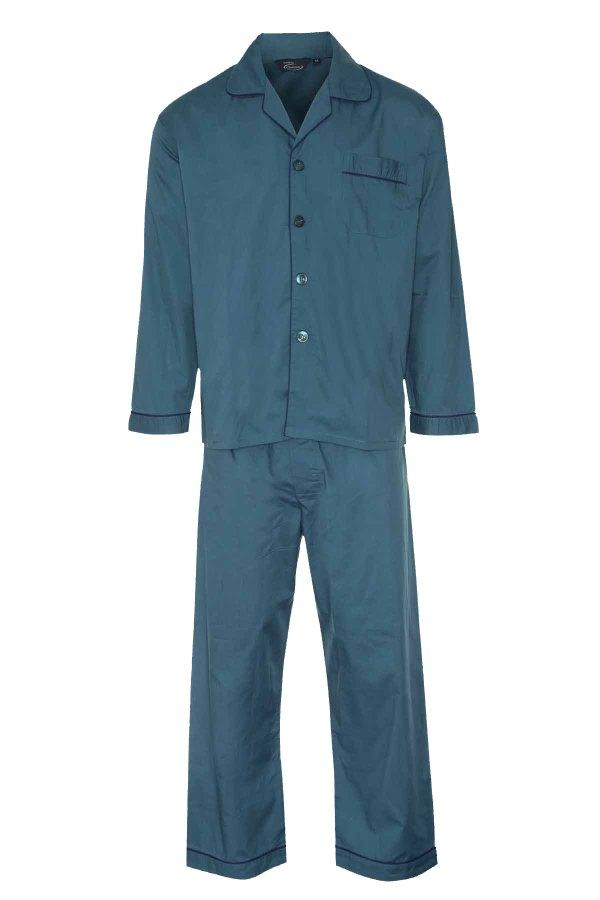 Mens Champion Cotton Blend Button Front Pyjama Set