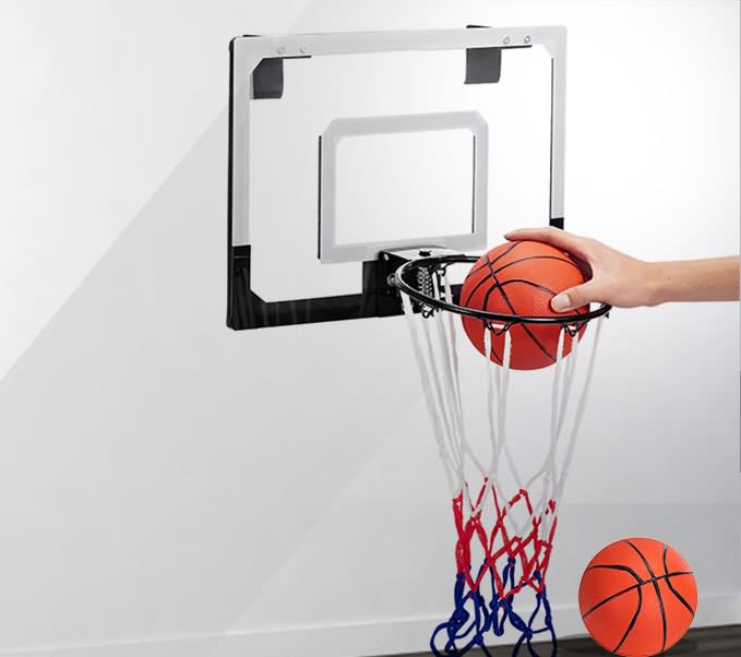 NEW WorkoutWiz Mini Hoop Indoor Basketball kit Set hoop