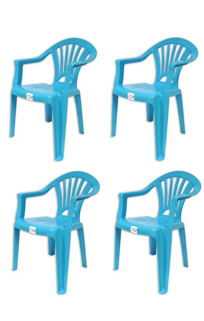 Plastic Chairs Stackable Kids Indoor or Outdoor Use Purple