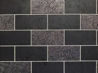 Brick Effect Wallpaper Tile Glitter Luxury Washable Vinyl ...
