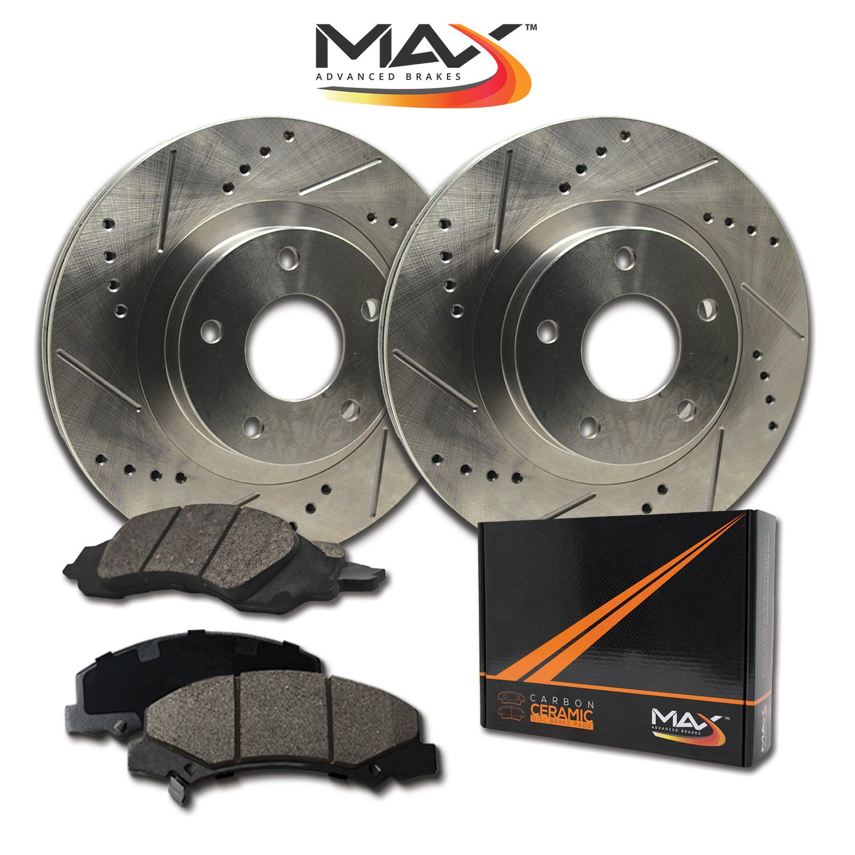 image is loading front rotors w ceramic pads premium brakes grand  [ 1500 x 1500 Pixel ]