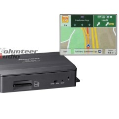 Pioneer Avh Gps Add On Convex Mirror Ray Diagram Animation Navigation System With Traffic Tuner For