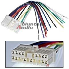 Factory Car Stereo Wiring Diagrams For Lighting Circuits Suzuki Gm Plugs Into Radio Cd Player