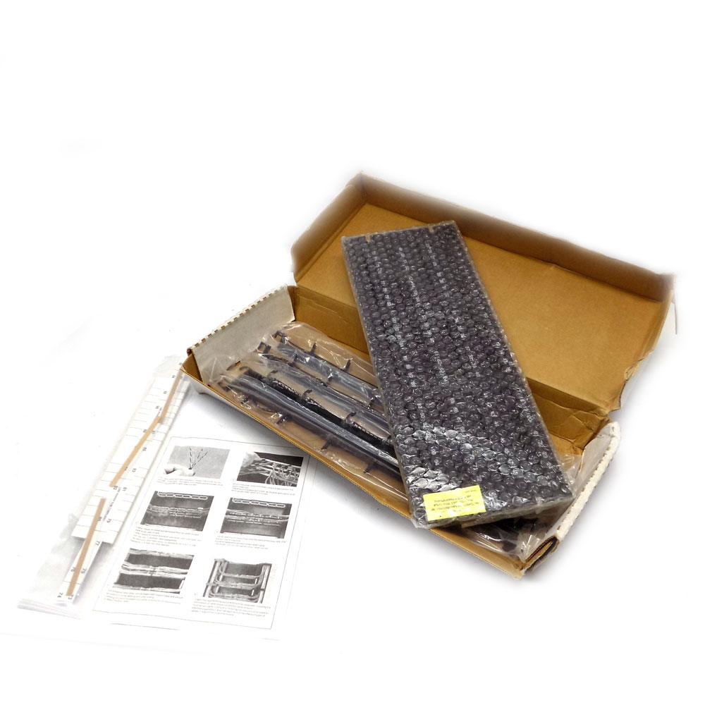 hight resolution of details about hubbell mcc5812110a19 category 5e 96 port 110 panel premise wiring patch panel