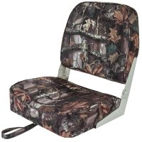 KILL SHOT FOLDING CAMO BOAT SEAT