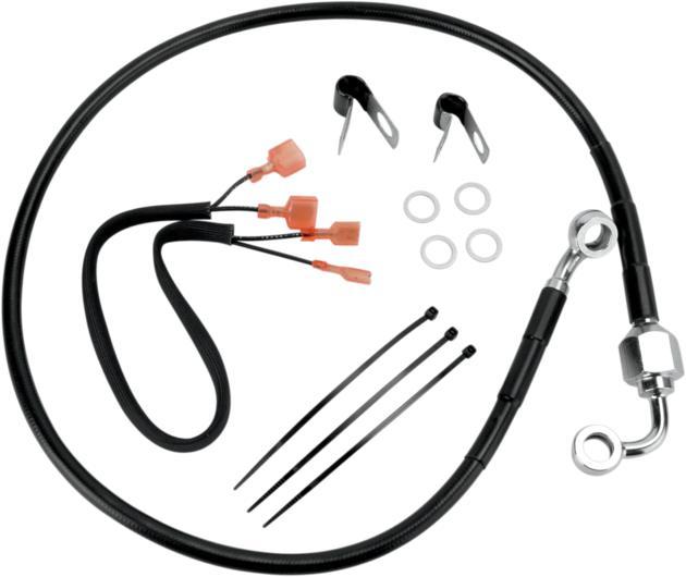 DS Vinyl Brake Line Kit Rear Harley Davidson Sportster 883