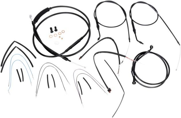 Burly Handlebar Cable/Line Kit for 14