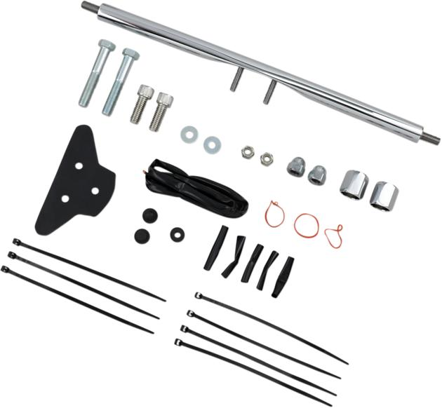 DS Rear Turn Signal Relocation Kit Chrome Harley Davidson