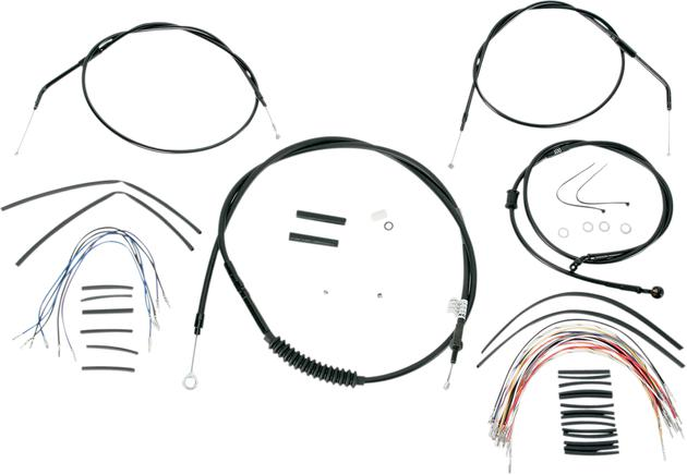 Burly Cable/Brake Line Kit for 12