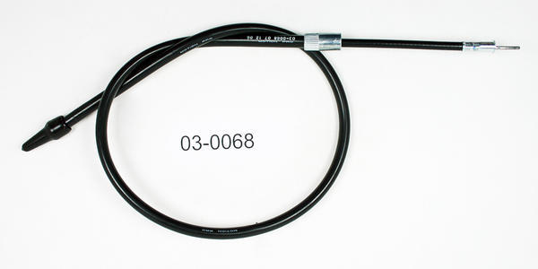 Motion Pro Speedometer Cable Black for Kawasaki ZX550A GPz