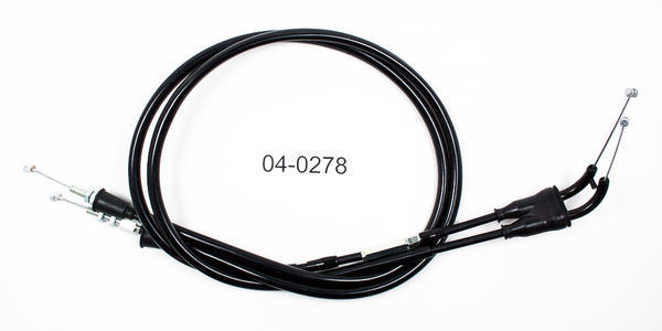 Motion Pro Push/Pull Throttle Cable Set Black Suzuki RM