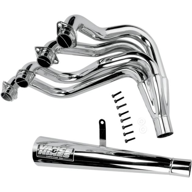 Vance & Hines Pro Pipe 4-1 Exhaust System Chrome fits