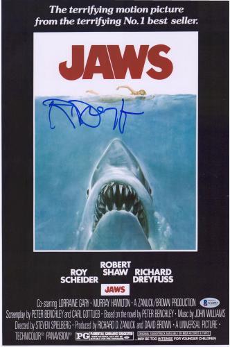 autographed richard dreyfuss