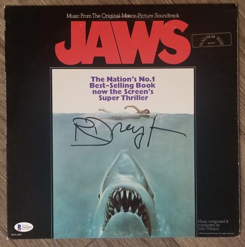 jaws movie memorabilia autographed