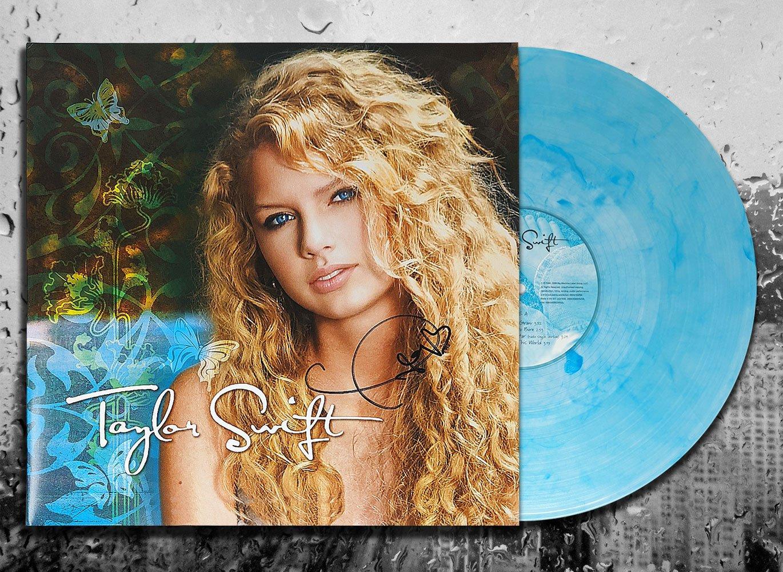 Taylor Swift's self-titled debut studio album vinyl