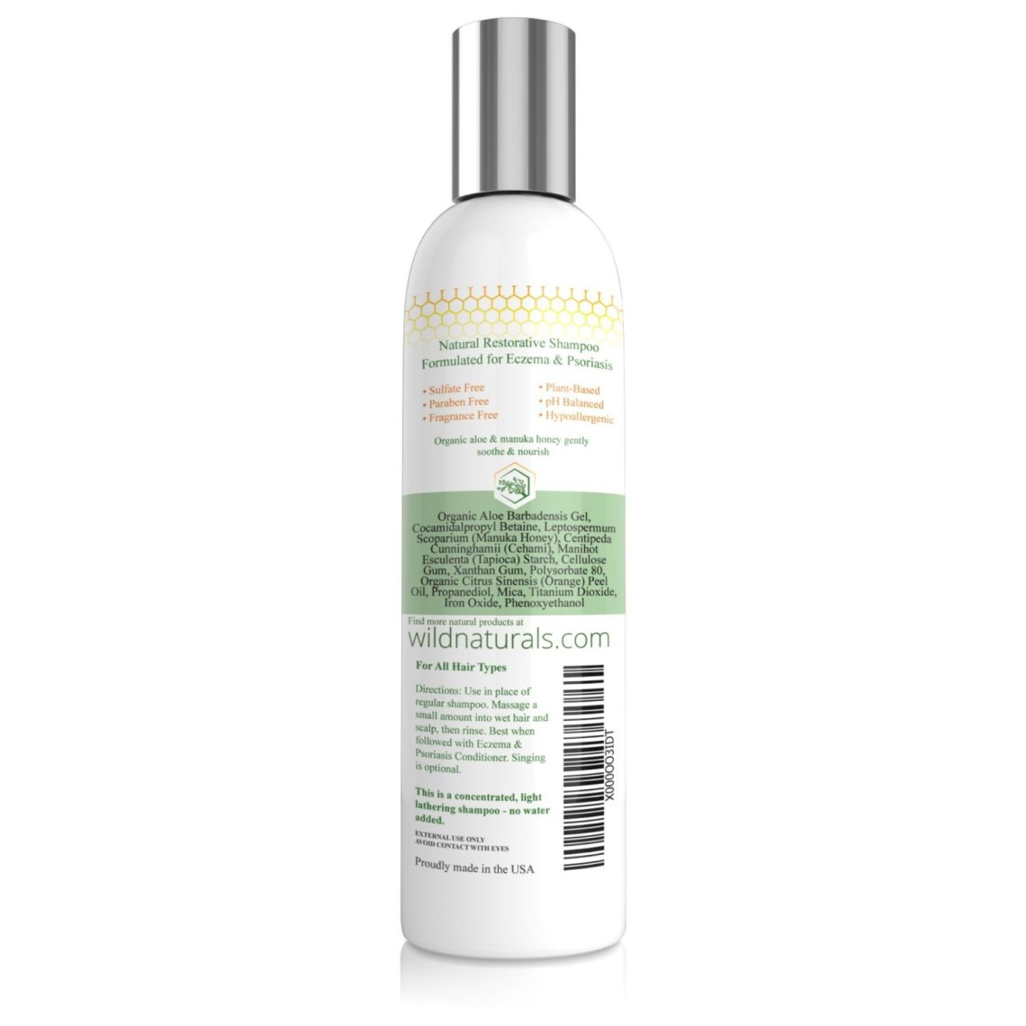 Wild Naturals Eczema/Psoriasis Shampoo/Conditioner Review
