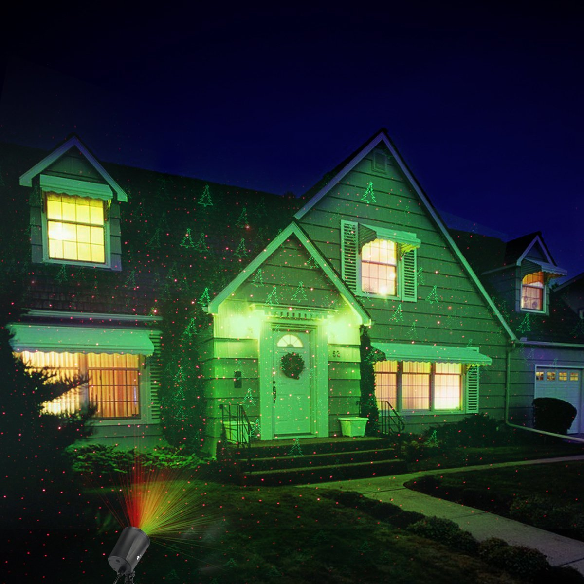 Christmas Lights Projector Outdoor