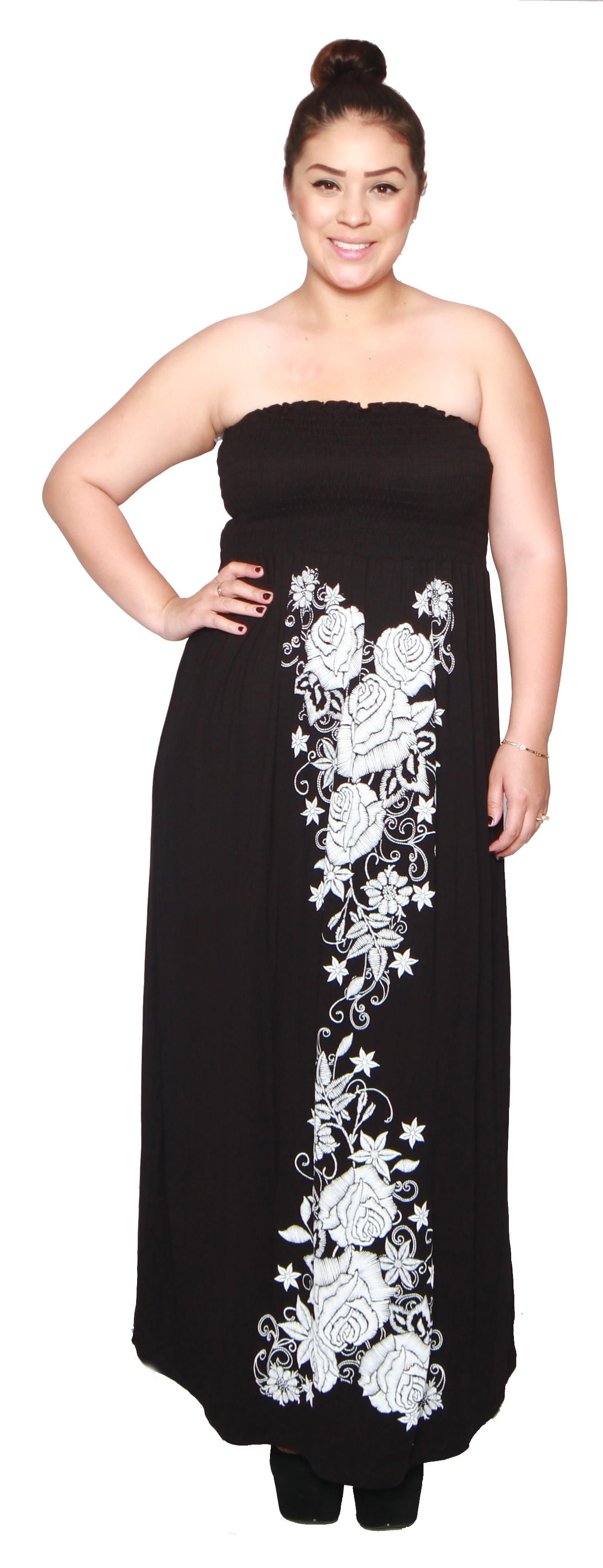 TiffsPixieDust Junior Plus Size Womens Maxi Dress Review