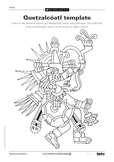 Quetzalcoatl template