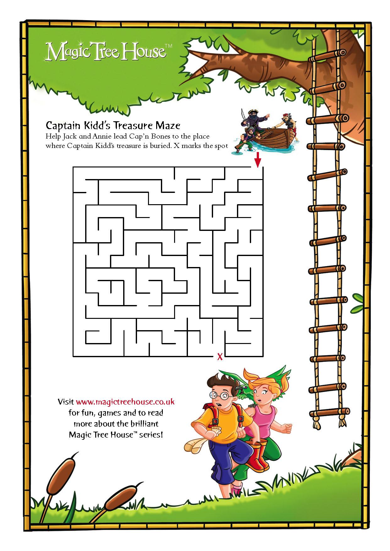 Magic Tree House Maze